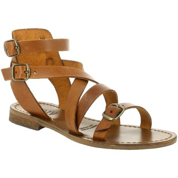 Chaussures Femme Sandales et Nu-pieds Iota 046 marron