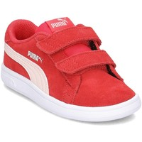 Chaussures Enfant Baskets basses Puma Smash V2 SD V Rouge