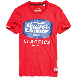 Vêtements Homme T-shirts manches courtes Superdry New Tin Tab T-Shirt Mc Homme