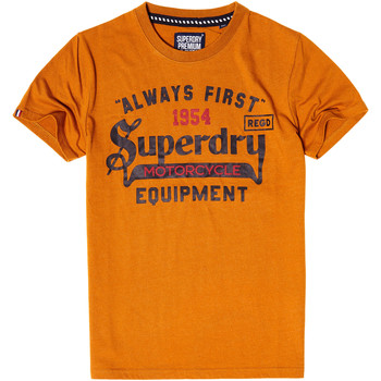 Vêtements Homme T-shirts manches courtes Superdry Always First T-Shirt Mc Homme