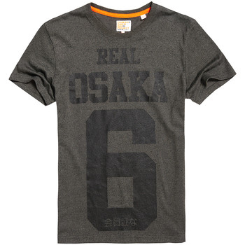 Vêtements Homme T-shirts manches courtes Superdry Real Osaka 6 T-Shirt Mc Homme