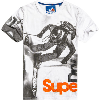 Vêtements Homme T-shirts manches courtes Superdry Mountaineer Boxed Photo T-Shirt Mc Homme