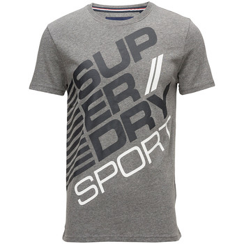 Vêtements Homme T-shirts manches courtes Superdry Sports Diagonal T-Shirt Mc Homme