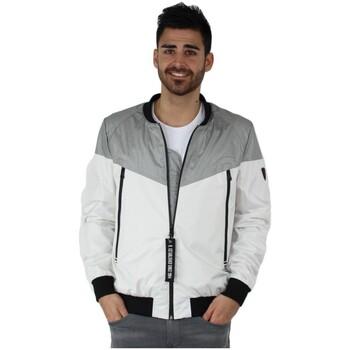 Vêtements Homme Blousons Redskins Blouson  Cross Venezuela ref_trk38721-blanc-gris white grey