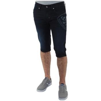 a0a7427137a90 Vêtements Homme Shorts / Bermudas Redskins Bermuda jeans Tommy Barker  ref_trk36806-d dark blue used