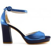 Chaussures Femme Sandales et Nu-pieds Lodi Julio bleu Multicolore