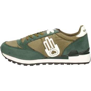 Chaussures Homme Baskets basses Kamsa UKAMSA Sneakers Homme Vert Vert