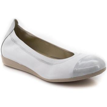 Chaussures Femme Ville basse Marroquí Sánchez 9642 Blanc