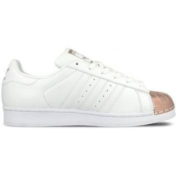 Chaussures Enfant Baskets basses adidas Originals Superstar Metal Toe By2882 BLANC