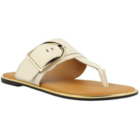 Chaussures Femme Tongs Tommy Hilfiger  Blanc