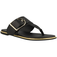 Chaussures Femme Tongs Tommy Hilfiger  Noir