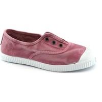 Chaussures Enfant Baskets basses Cienta rose élastiques chaussures bébé unisexe glisser sur le tissu Rosa