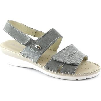 Chaussures Femme Sandales et Nu-pieds Grunland GRU-CCC-SA1781-GR Grigio