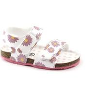 Chaussures Enfant Sandales et Nu-pieds Grunland Grünland AFRE SB0248 20/24 fantaisie sandale bébé blanc déchirur Bianco