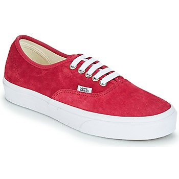 Chaussures Femme Baskets basses Vans AUTHENTIC Rouge