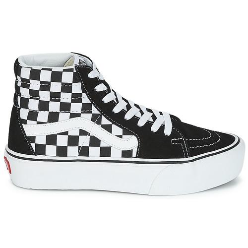 Chaussures hi 1 Baskets Montantes 2 Platform Femme Sk8 NoirBlanc Vans y80OPnmvwN