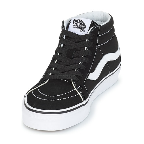 NoirBlanc Baskets Reissue Montantes Vans mid Chaussures Sk8 kXwn80PO