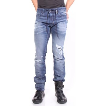 Vêtements Homme Jeans skinny Diesel THAVAR SP-NE 0684W Bleu
