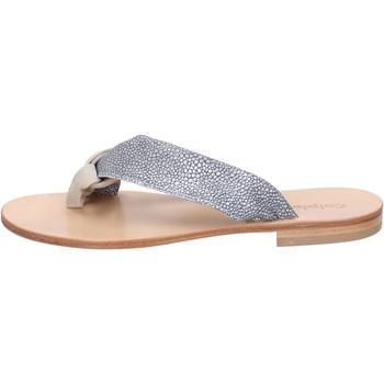 Chaussures Femme Sandales et Nu-pieds Calpierre sandales gris daim beige textile BZ880 beige