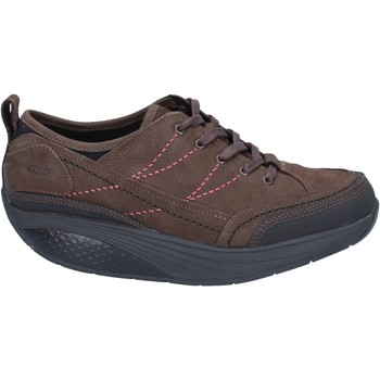 Chaussures Femme Baskets basses Mbt chaussures femme  sneakers marron nabuk performance BZ912 marron
