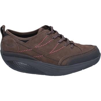 Chaussures Femme Baskets basses Mbt sneakers marron nabuk performance BZ912 marron