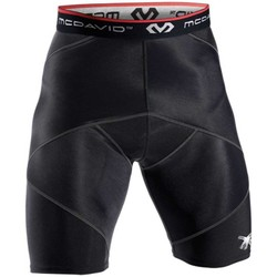 Vêtements Shorts / Bermudas Mcdavid Short de compression - Adulte - Noir