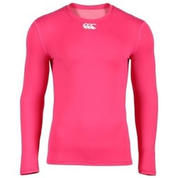 Vêtements T-shirts manches longues Canterbury Baselayer - Cold Long Sleeve Top - Rose - Rose