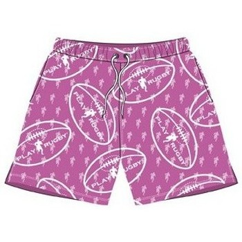 Vêtements Enfant Shorts / Bermudas Play Rugby Short de bain - Drop - Play Ru Rose