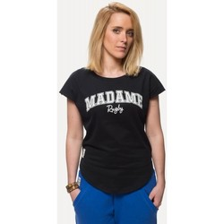 Vêtements T-shirts manches courtes Rugby Division Tee-shirt - Madame - Noir