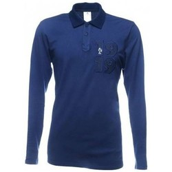 Vêtements Polos manches longues adidas Originals Polo rugby - France - Bleu