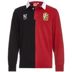 Vêtements Polos manches longues British & Irish Lions Polo rugby adulte - Les Lions tournée 2017 - Rouge