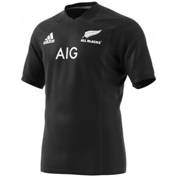 Vêtements T-shirts manches courtes adidas Originals Maillot rugby All Blacks Adult Noir