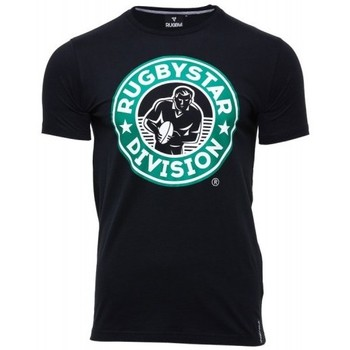 Vêtements T-shirts manches courtes Rugby Division Tee-shirt rugby adulte - Rugbystar - Noir