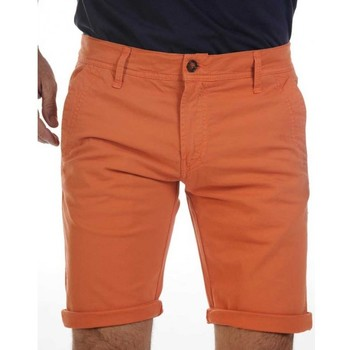Vêtements Shorts / Bermudas Camberabero Bermuda rugby - Chino - Cambérabéro Orange