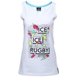 Vêtements Débardeurs / T-shirts sans manche Rugby Division Débardeur rugby femme - Ice Ic Blanc