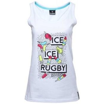Vêtements Débardeurs / T-shirts sans manche Rugby Division Débardeur rugby femme - Ice Ice Rugby - Blanc