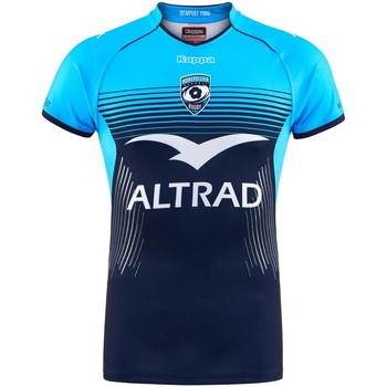 Vêtements T-shirts manches courtes Kappa Maillot rugby Montpellier Hérault Rugby (MHR), replica domicile Bleu