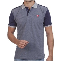 Vêtements Polos manches courtes Camberabero Polo rugby manches courtes adulte - Gris