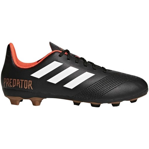 adidas Originals Crampons rugby moulés enfant - Predator 18.4 FxG J - Noir - Chaussures Rugby