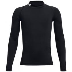 Vêtements Polos manches longues Under Armour Baselayer de compression rugby Noir