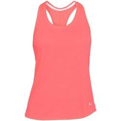 Vêtements Débardeurs / T-shirts sans manche Under Armour Débardeur rugby femme Threadbo Rose