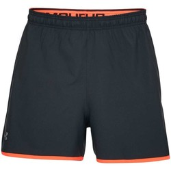 Vêtements Shorts / Bermudas Under Armour Short entrainement rugby  UA Qualifier 15 cm - Noir