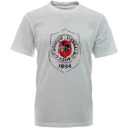 Vêtements Enfant T-shirts manches courtes adidas Originals Tee-shirt - Essai du bout du m Blanc