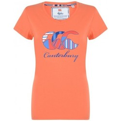 Vêtements T-shirts manches courtes Canterbury Tee-shirt - Uglies vee neck te Orange