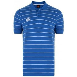 Vêtements Polos manches courtes Canterbury Polo - Rugby striped polo - Blanc