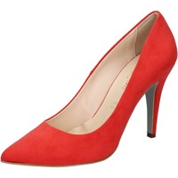 Chaussures Femme Escarpins Bottega Lotti escarpins rouge corallo daim BZ963 rouge