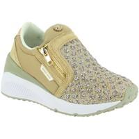 Chaussures Femme Baskets mode Versace e0vrbsb1 beige