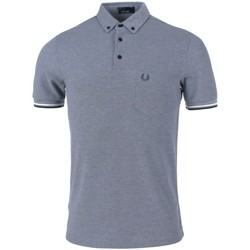 Vêtements Homme Polos manches courtes Fred Perry Polo  M2584 dark carbon Gris