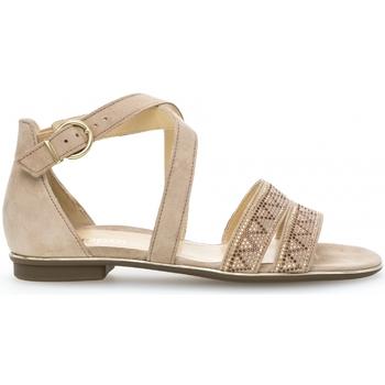 Chaussures Femme Sandales et Nu-pieds Gabor Sandales camel Marron