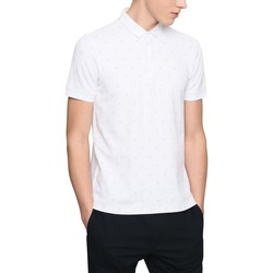 Vêtements Homme Polos manches courtes Armani Exchange POLO AX ALLOVER BLANC